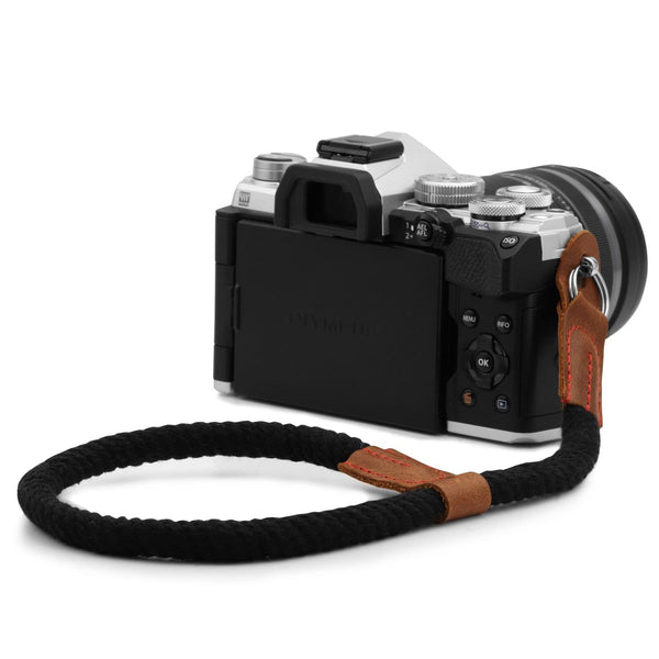 MegaGear SLR DSLR Camera Cotton Wrist Strap - Black