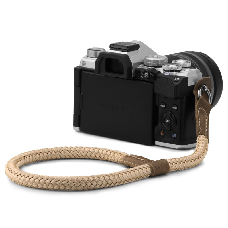 MegaGear SLR DSLR Camera Cotton Wrist Strap - Cinnamon