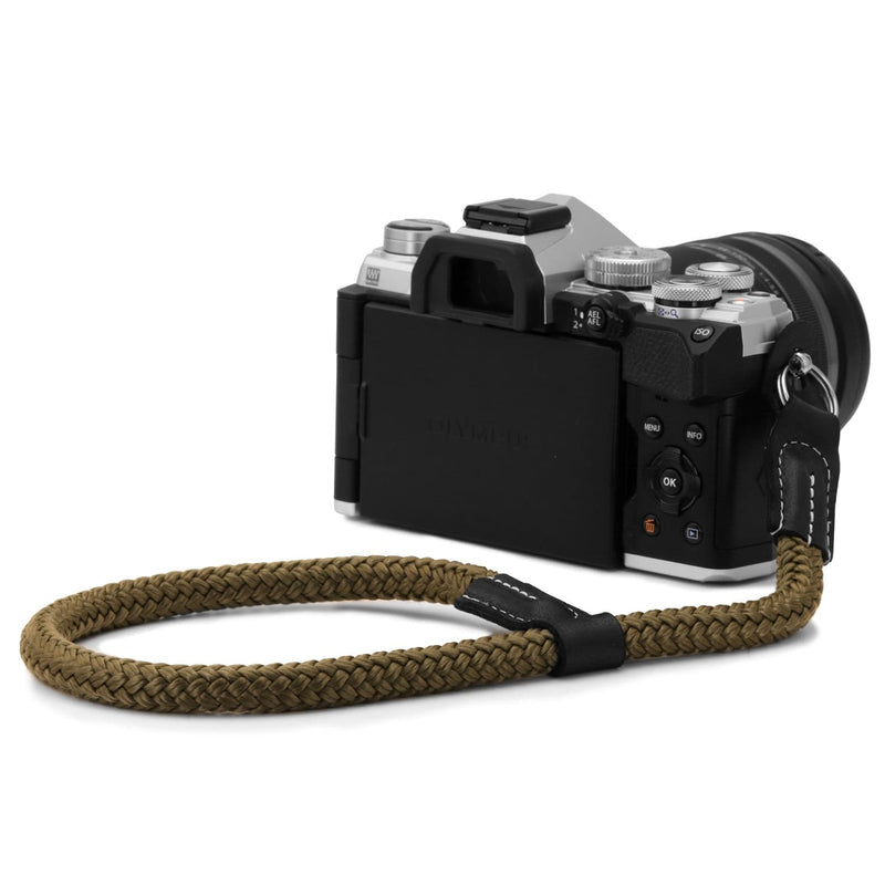 MegaGear SLR DSLR Camera Cotton Wrist Strap - Green