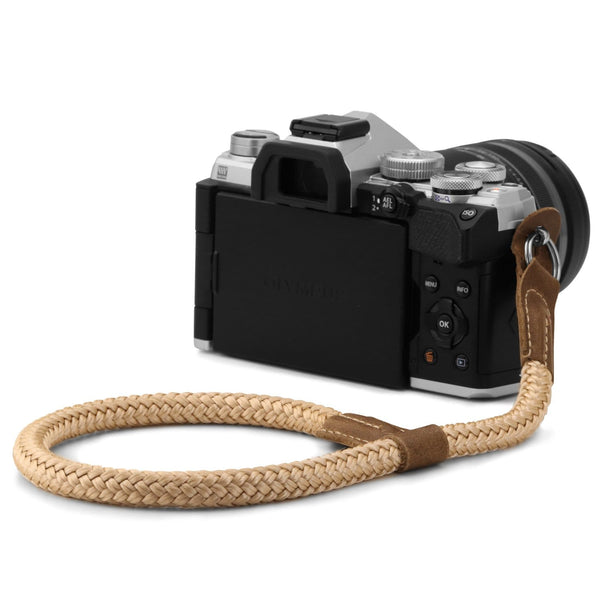 MegaGear SLR DSLR Camera Cotton Wrist Strap - Mink