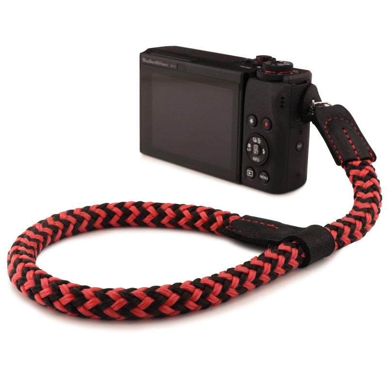 MegaGear SLR DSLR Camera Cotton Wrist Strap - Red