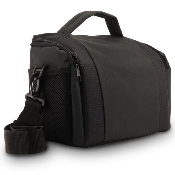 MegaGear SLR DSLR Camera Shoulder Bag and Gadget - Black