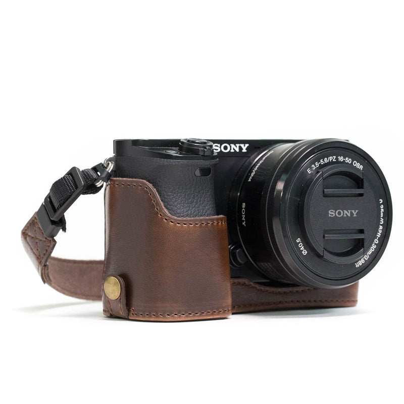 MegaGear Sony Alpha A5100 A5000 Ever Ready Leather Camera