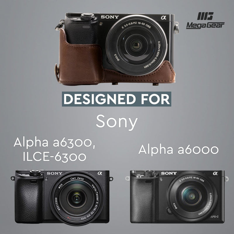 MegaGear Sony Alpha A6300 A6000 (16-50 mm) Ever Ready