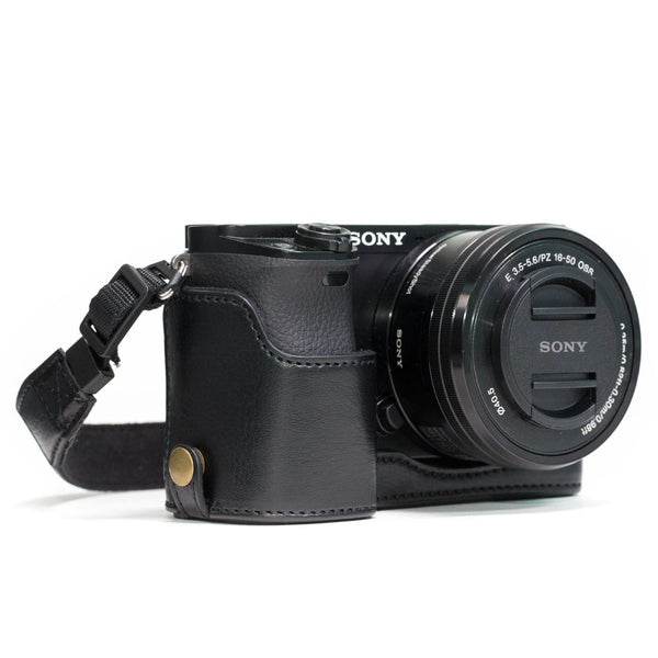MegaGear Sony Alpha A6300 A6000 Ever Ready Leather Camera