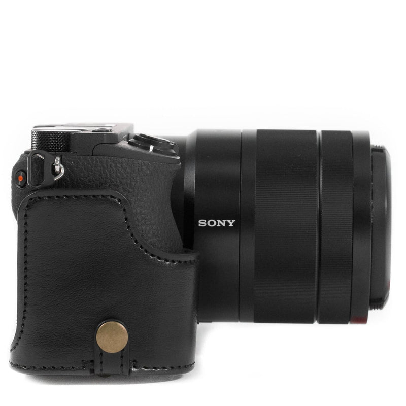 MegaGear Sony Alpha A6500 (18-135mm) Ever Ready Leather