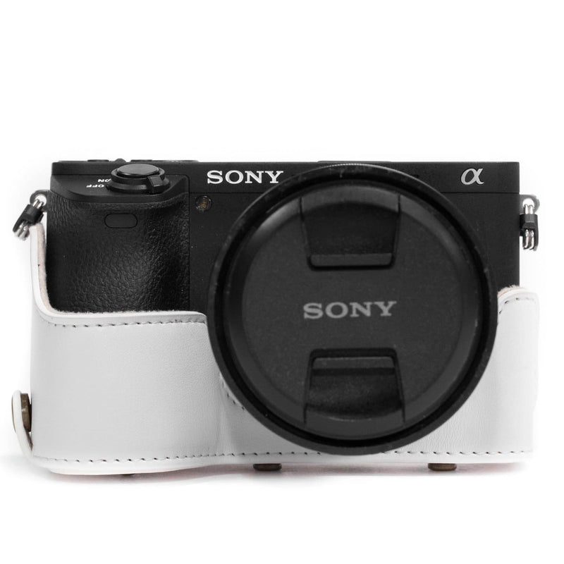 MegaGear Sony Alpha A6500 (up to 16-70mm) Ever Ready Leather