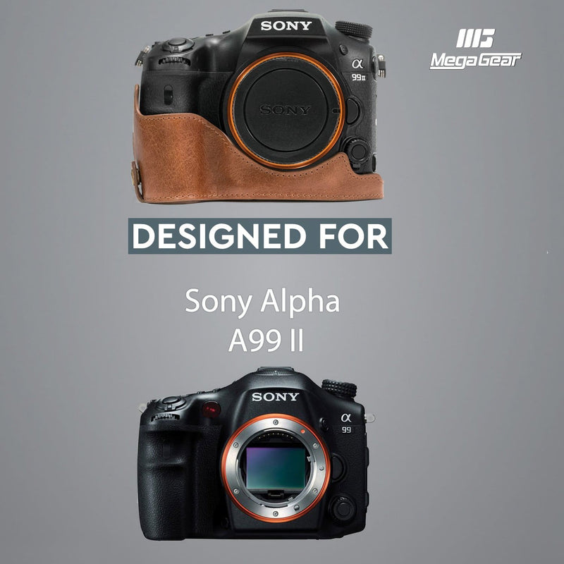 MegaGear Sony Alpha A99 II Ever Ready Genuine Leather Camera