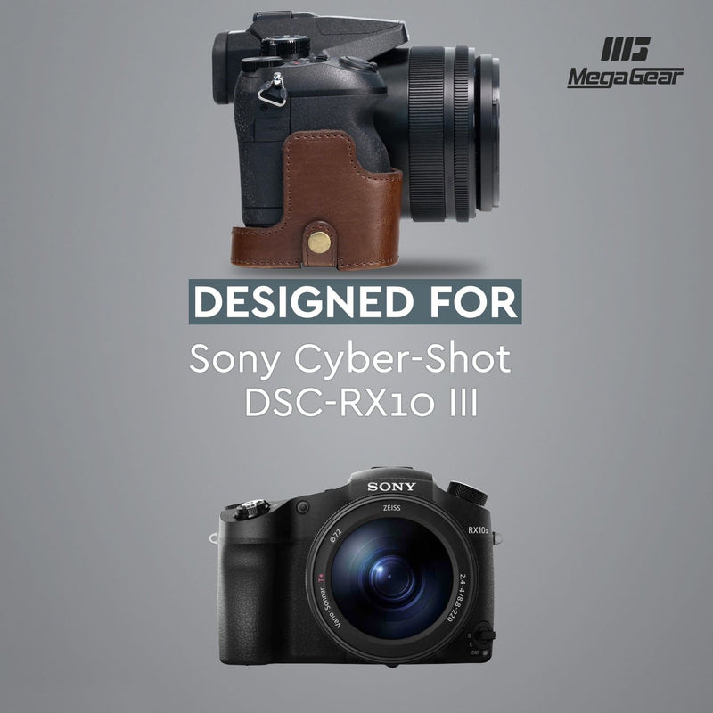 MegaGear Sony Cyber-shot DSC-RX10 IV III Ever Ready Leather