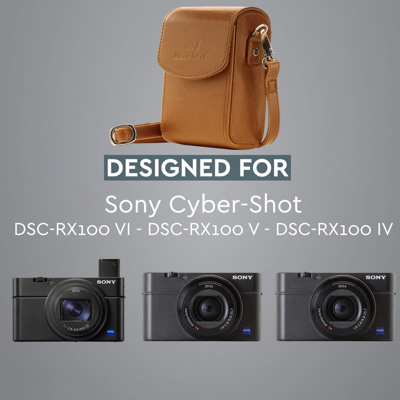 MegaGear Sony Cyber-shot DSC-RX100 VII VI V IV Leather
