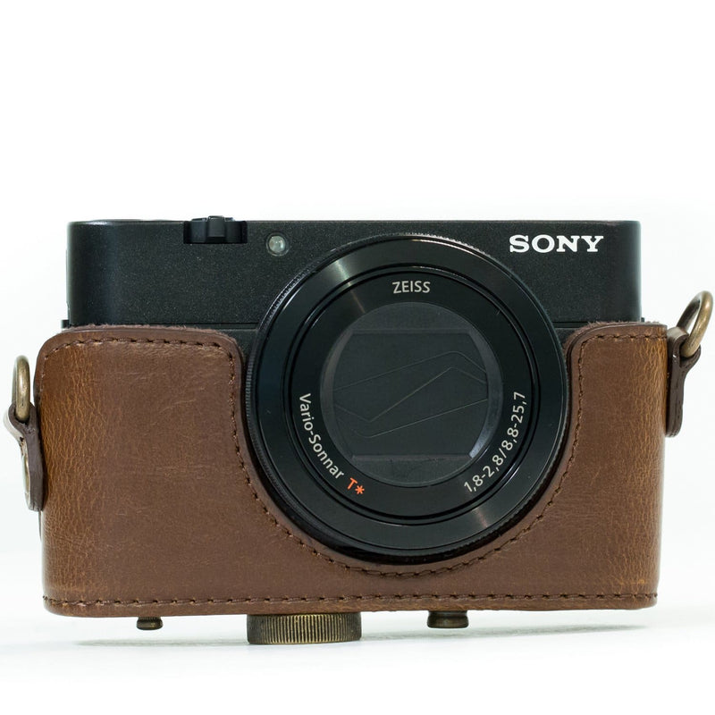 MegaGear Sony Cyber-shot DSC-WX500 Ever Ready Leather Camera