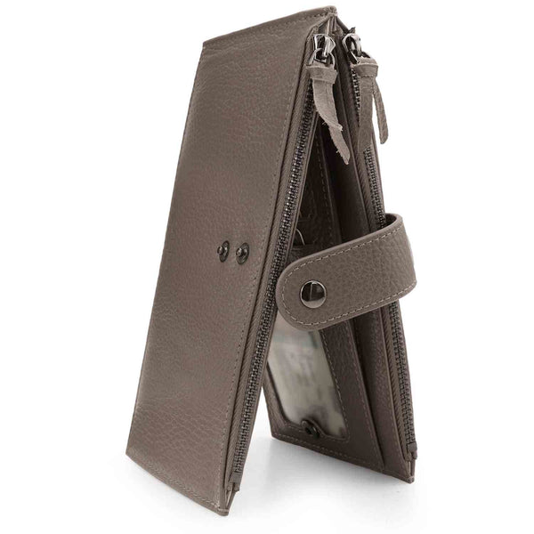Otto Angelino Genuine Leather 2 Compartment Bifold Wallet