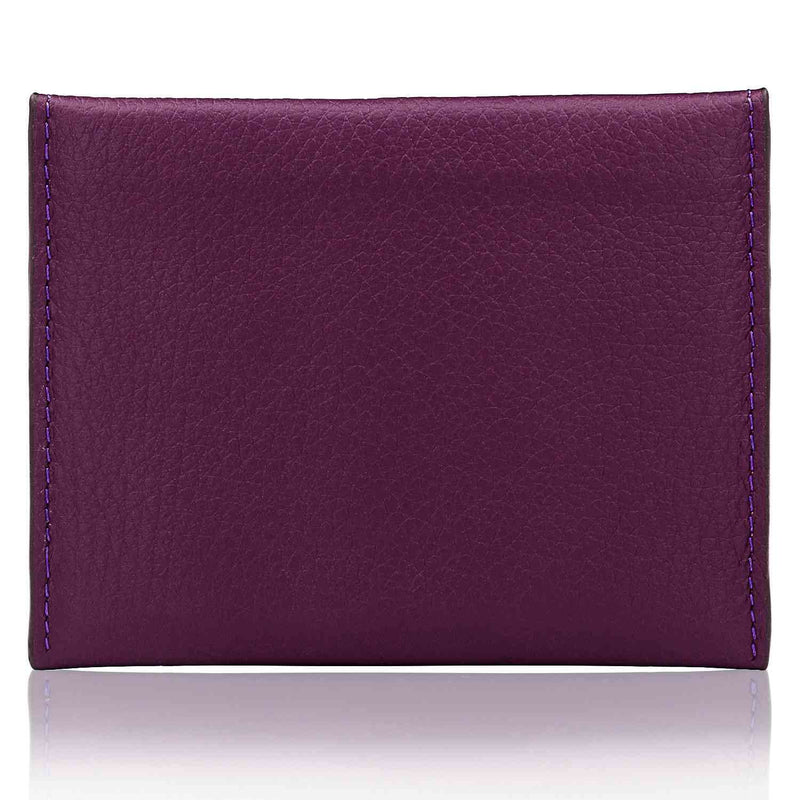 Otto Angelino Genuine Leather Credit Card Holder and Travel