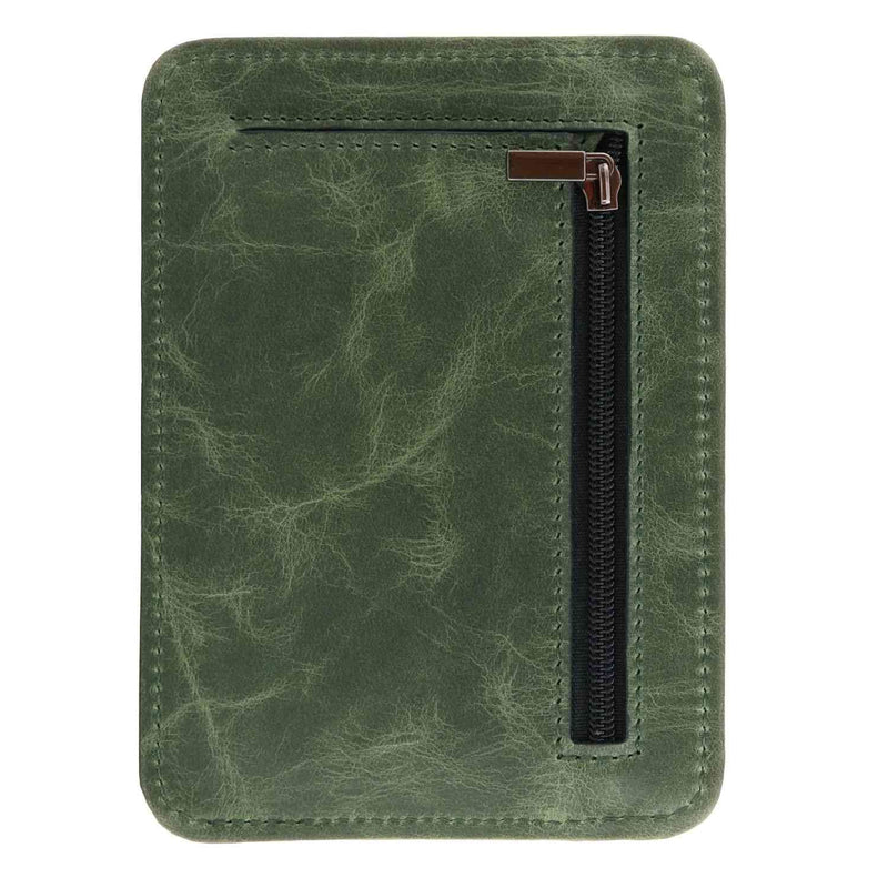 Otto Angelino Italian Leather Minimalist Men Wallet - Slim
