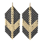 Deco Glam Arrow Earrings