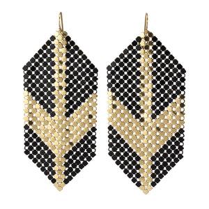 Deco Glam Arrow Earrings by Maral Rapp