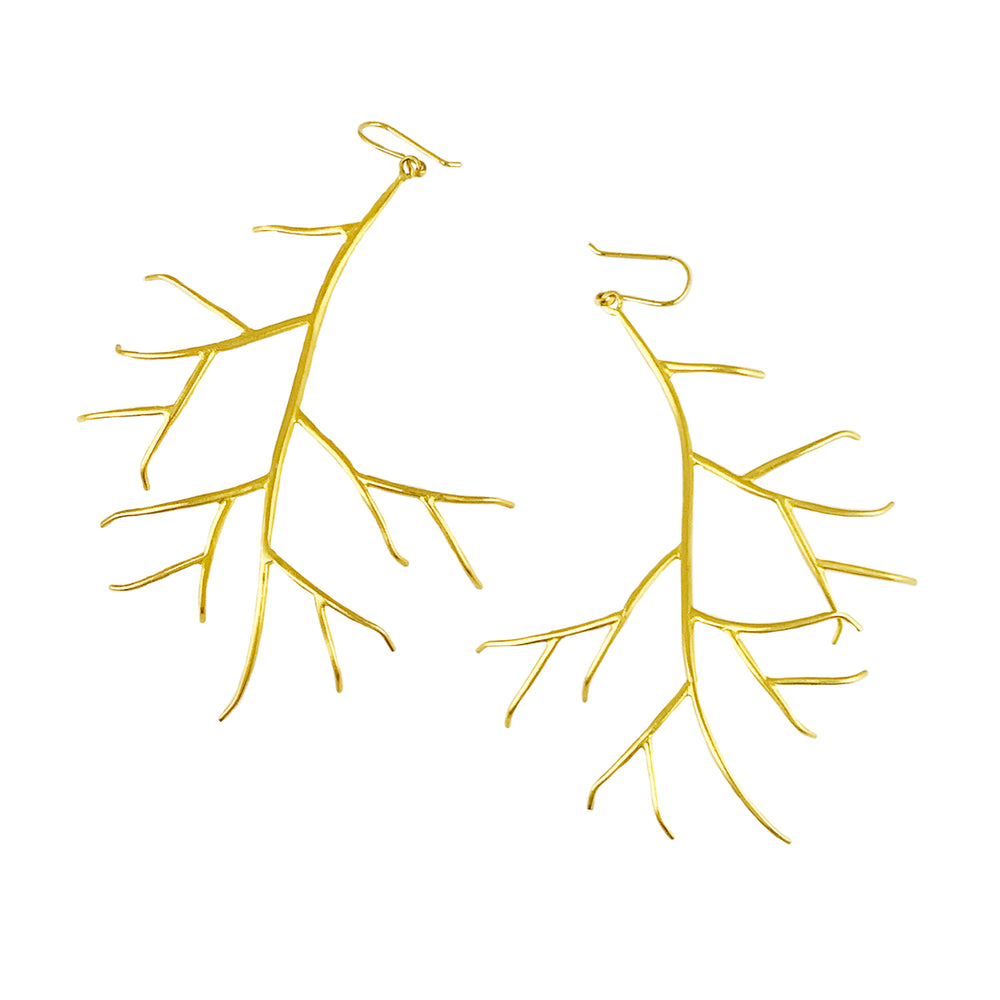 Extra Large Branch Earrings by Hannah Blount