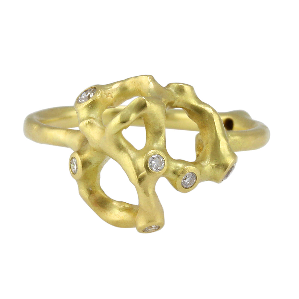 Webbed Barnacle Ring