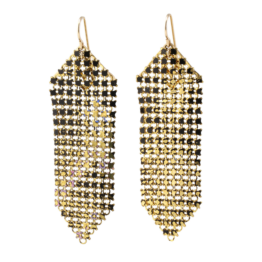 Wabi Sabi Mesh Earrings - Medium