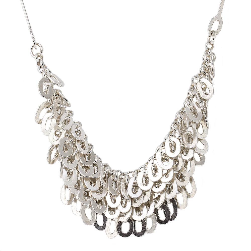 Oval Link Shimmy Necklace