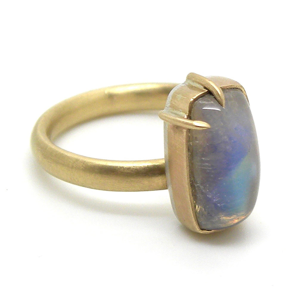 Load image into Gallery viewer, Waning Moonstone Ring by Hannah Blount