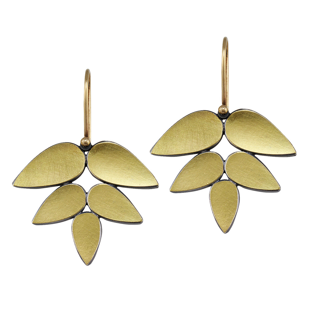 Leaf Earring by Elisa Bongfeldt