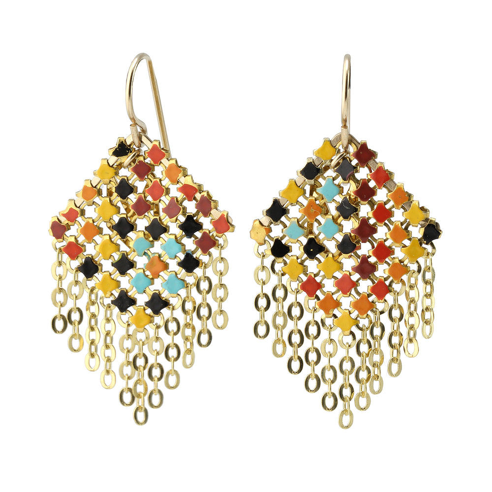 Small Fringed Earrings