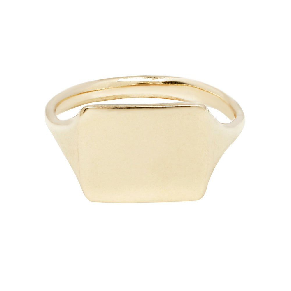 Picture Signet Ring - Yellow, by Erin Cuff