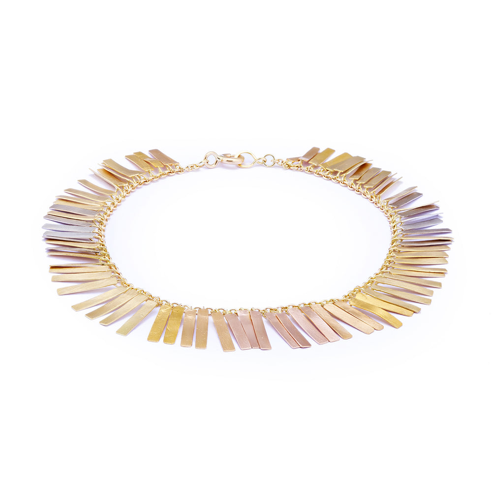 Load image into Gallery viewer, Sunset Fringe Bracelet by Sia Taylor