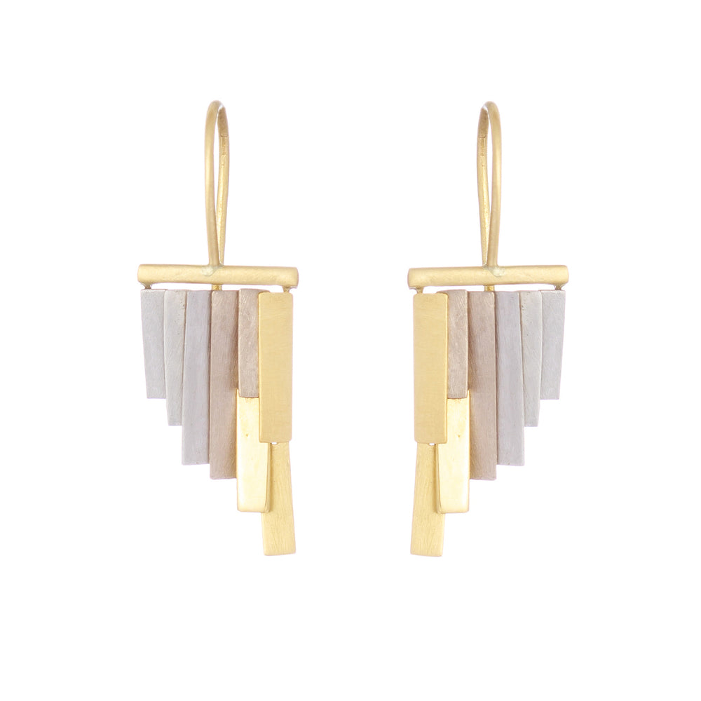 Tiny Rainfall Earrings by Sia Taylor