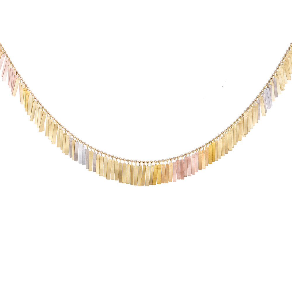 Sunset Full Fringe Necklace