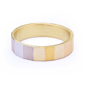 5mm Faceted Rainbow Band by Sia Taylor