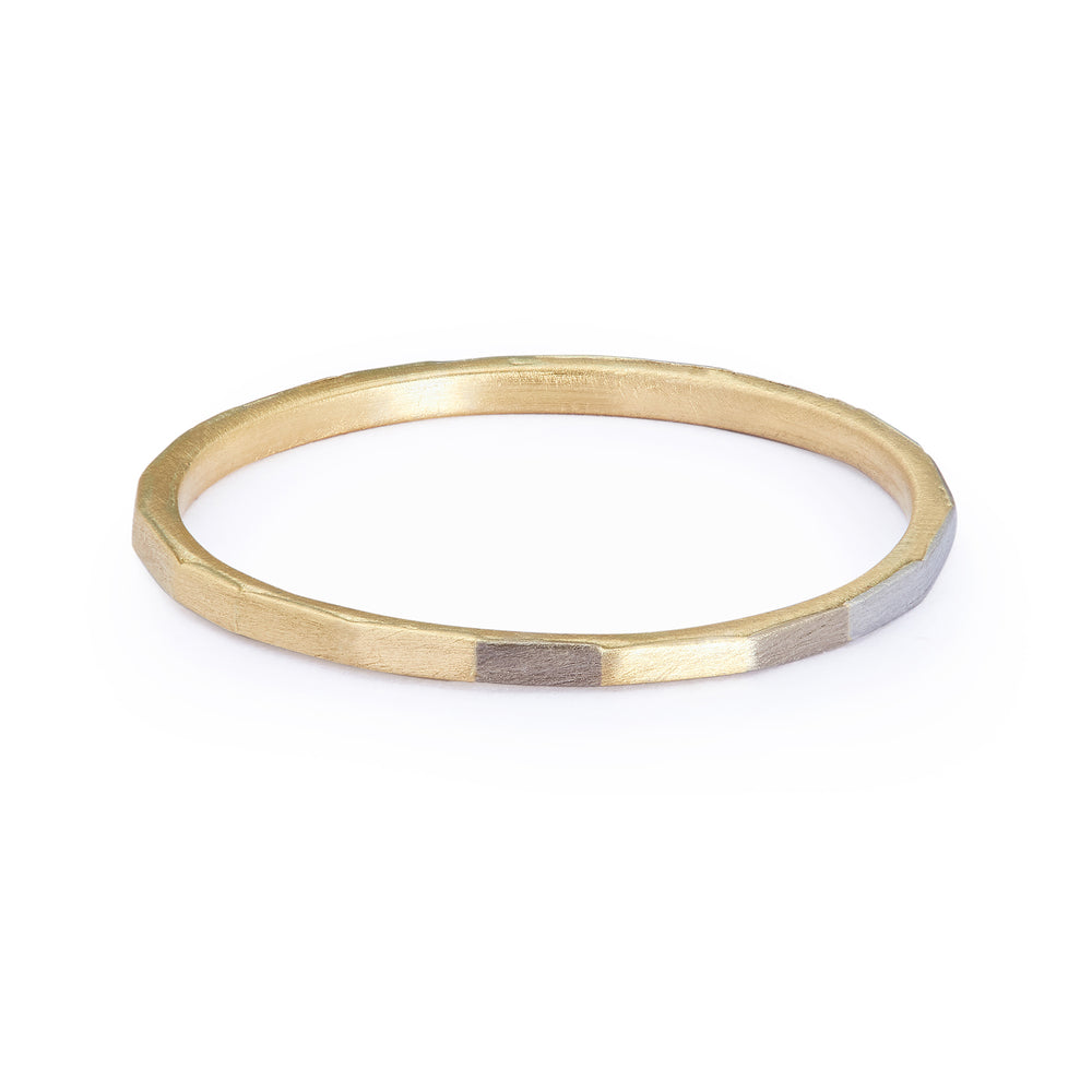 Super Fine Faceted Band by Sia Taylor