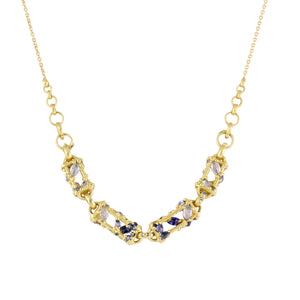 La Fontaine sapphire necklace by Polly Wales