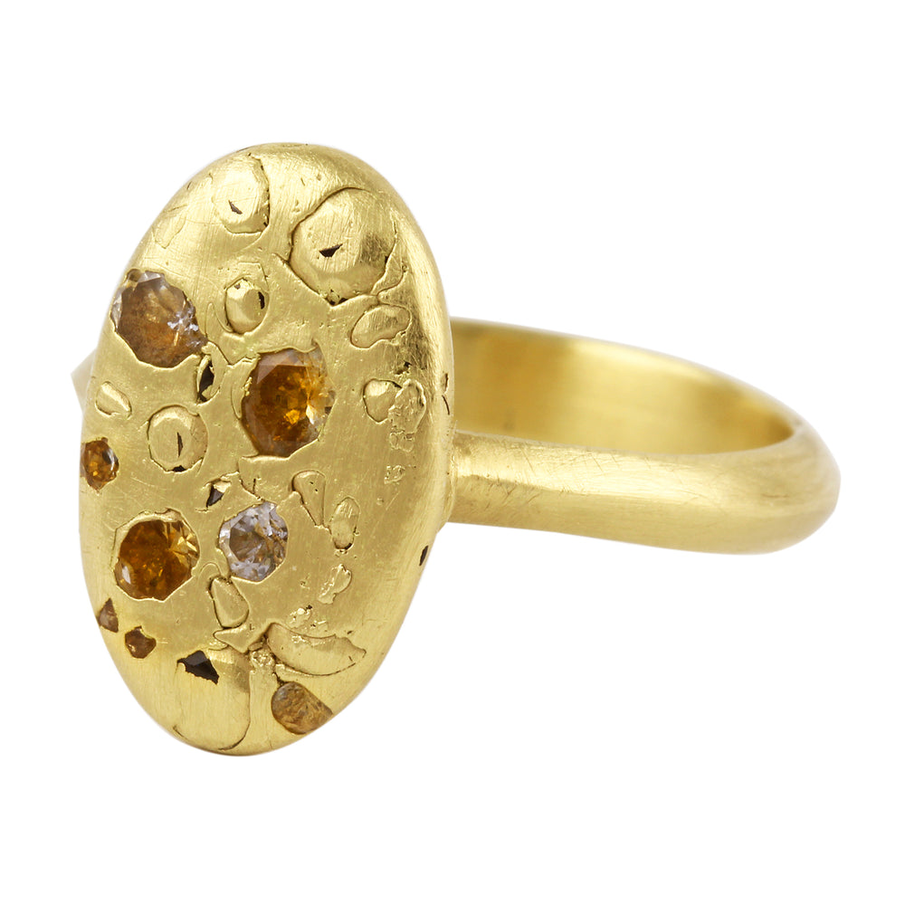 Load image into Gallery viewer, Elysian Signet Ring by Polly Wales