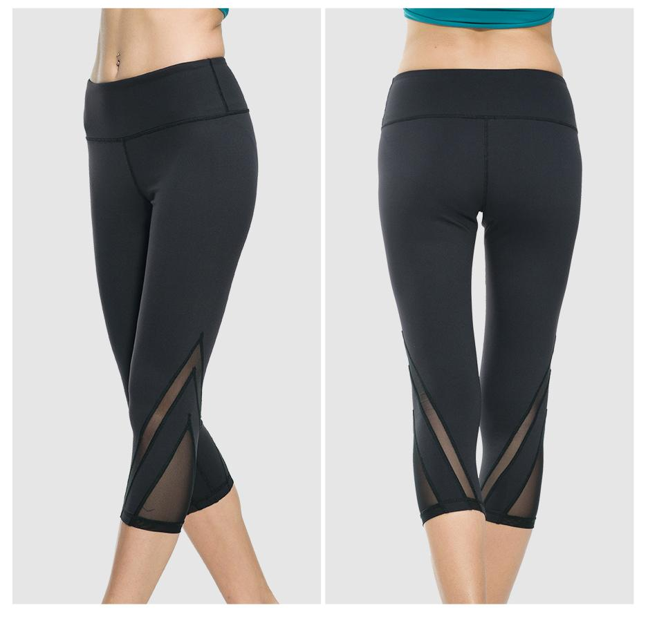 Compression 3/4 Fitness Leggings - Available in XL - Bak2Bay6Store