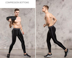 Albreda Men's Sports Compression Tights-Available in XL - Bak2Bay6Store