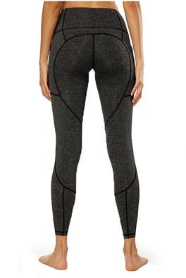 Highly Elastic Breathable Patchwork Fitness Leggings - Bak2Bay6Store
