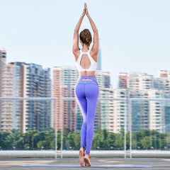 Strappy Wide Waisted Prestige Yoga/ Exercise Pants - Bak2Bay6Store