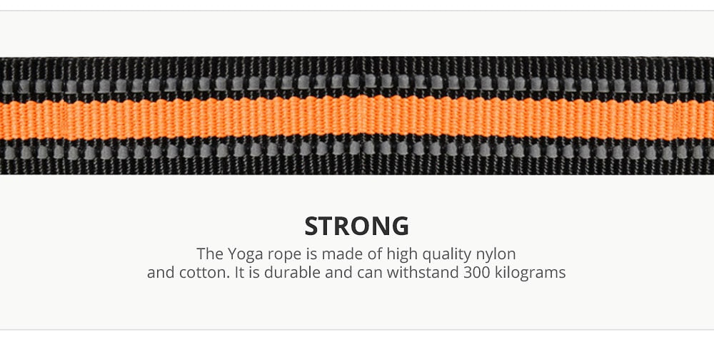 Yoga Fitness Stretch Training Belt