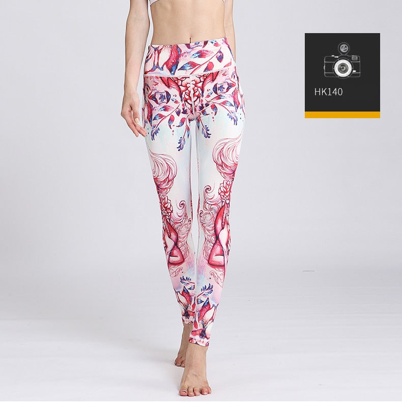 Highly Elastic Zodiac Constellations Leggings