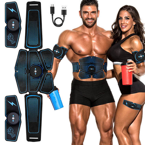 The Ultimate ABS Stimulator Toning Belt (Complete Set) - America's Most Effective Abs Workout!
