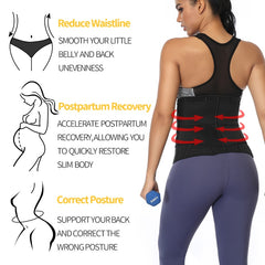 Neoprene Waist Sweat Shaper for Women-PLUS Size Available
