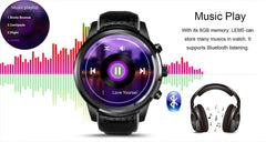 MTK6580 LEM5 Android 5.1 Bluetooth Smartwatch - Bak2Bay6Store