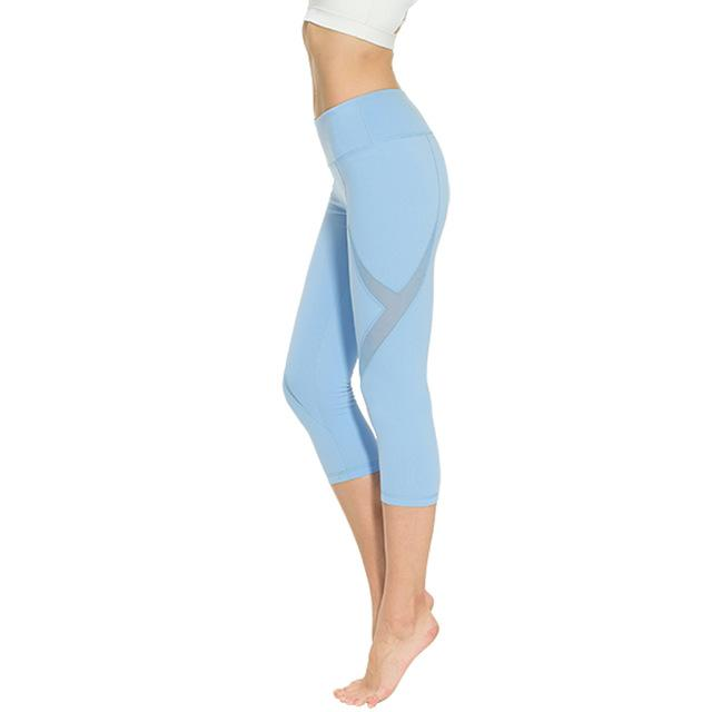 Capri Style Leggings - Gym Tights - Yoga Pants - Bak2Bay6Store