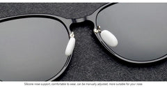 New 2018 Blanche Michelle Polarized Round sunglasses - Bak2Bay6Store