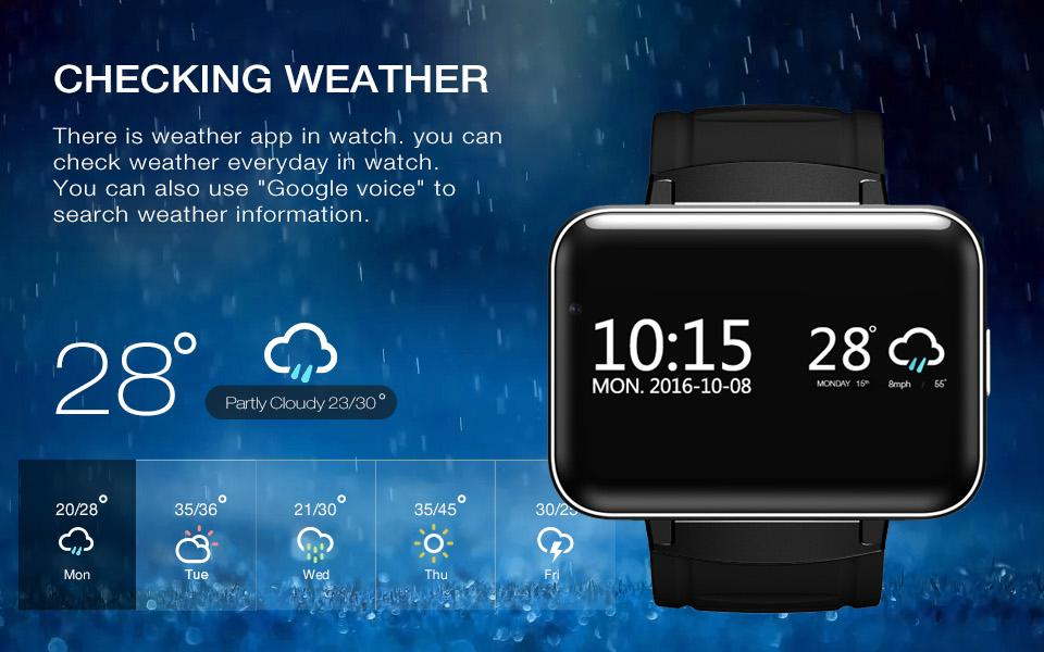 LEM4 Android OS Smart Watch - Bak2Bay6Store