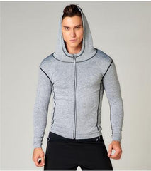 Reflective Hooded Sport Jacket for Men - bak2bay6.com
