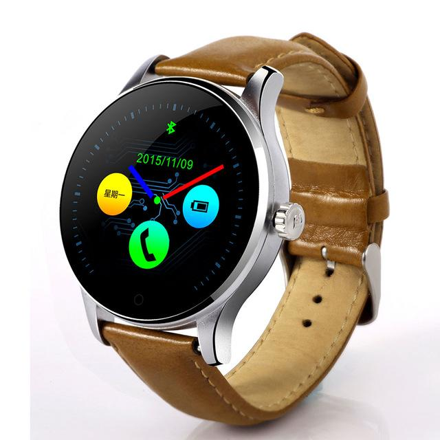 K88H Bluetooth Intelligent Smart Watch with MTK2502 Voice Control and Fitness Tracker - Bak2Bay6Store