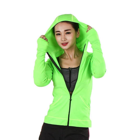 Lucca Yoga/Fitness Hooded Jacket - Bak2Bay6Store
